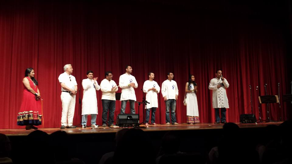 SIF volunteers on stage at KALP 2016 event